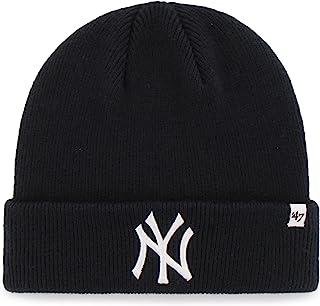 online store bdf91 22d23  47 MLB Adult Men s Raised Cuff Knit Hat.