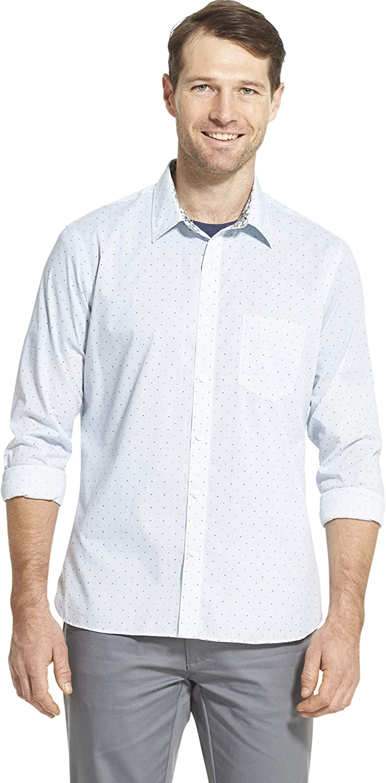 Van Heusen Max 54% Max 64% OFF OFF Men's Never Shirt Tuck Slim Fit