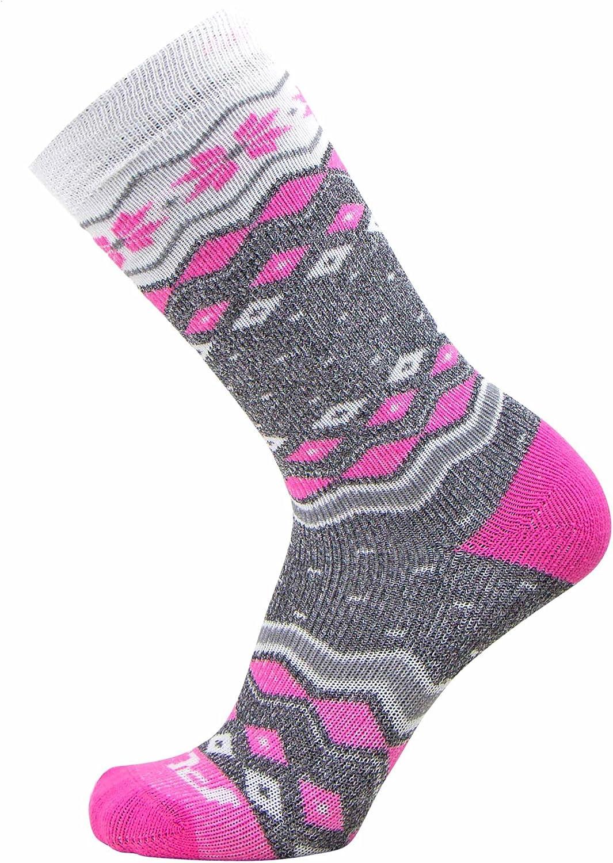 Pure Athlete Kids Ski SocksWarm Skiing Snowboard Sock for Boys and Girls, Merino Wool