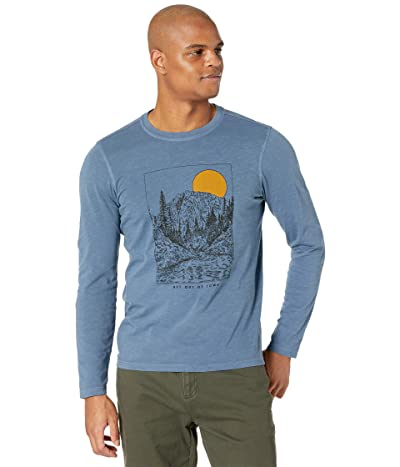 Toad&Co Get Out Of Town Long Sleeve Tee (High Tide Vintage Wash) Men