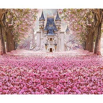 10x6.5ft Background Pink Diamond Photography Backdrop Birthday Event Photo Props HXFU052