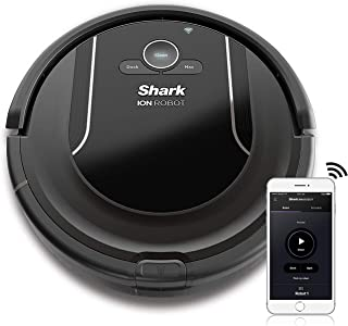 Shark ION ROBOT Self-cleaning Vacuum with Smart Sensor Navigation for Surface Floors & Thin Carpets and Easy Scheduling Re...