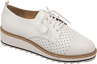 Pic & Pay | Moxie | Menswear Inpired Built-Up Bottom Leather Fashion Oxfords (New Spring)