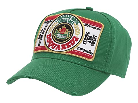 DSQUARED2 Beer Label Baseball Cap