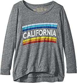 Retro California 3/4 Tri-Blend Pullover (Big Kids)