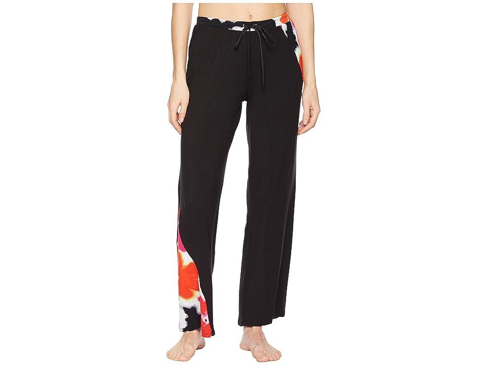 Donna Karan Long Pants (Black Print) Women's Pajama, Multi