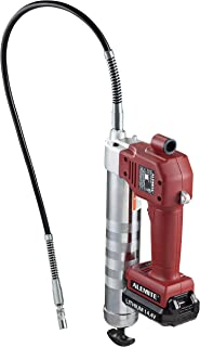 Alemite 586-A Battery-Powered Grease Gun, 120 V/60 Hz, One Battery, 2000 mAh, 10000 psi, 5.6oz/min Flow Rate