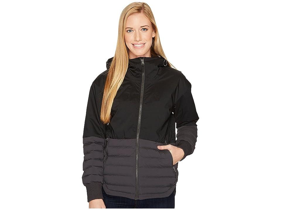 Columbia Open Site Hybrid Hooded Jacket (Black/Shark) Women