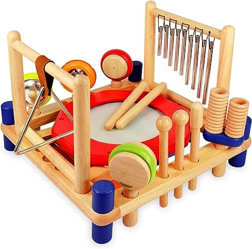 compra limitada I'm Toy 22050 Xylophone Melody Mix - - - Set de percusión para Niños  xilófono, Tambor, triángulo, Maracas, etc.  suministramos lo mejor