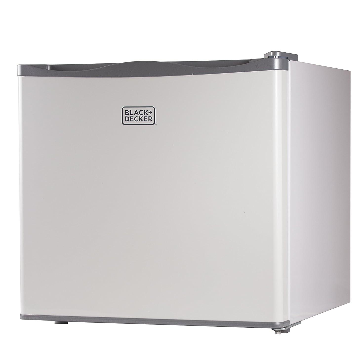 BLACK+DECKER WACDBUFK12W Compact Upright Freezer, Single Door, 1.2 Cubic Feet, White BUFK12W