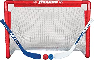 Franklin NHL Street Hockey Goal, Stick and Ball Set (Renewed)