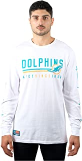 NFL Ultra Game Men's T-Shirt Active Basic Long Sleeve Tee Shirt