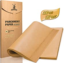 Hiware 200-Piece Parchment Paper Baking Sheets 12 x 16 Inch, Precut Non-Stick Parchment Sheets for Baking, Cooking, Grilli...