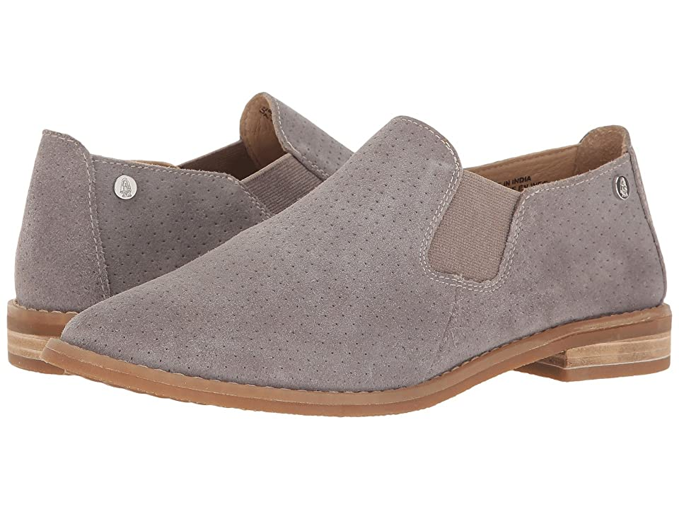 Hush Puppies Analise Clever (Frost Grey Suede Perf) Women