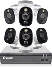 Swann SWDVK-845806WL-AU 6 Camera 8 Channel 1080p Full HD DVR Security System