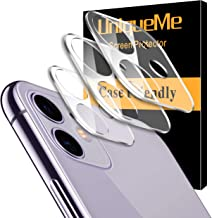 [ 3 Pack ] UniqueMe Camera Lens Protector for iPhone 11...