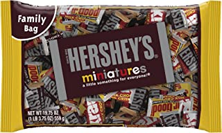 Hershey's Miniatures Assortment, 19.75-Ounce Bag (Pack of 3)