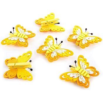Mini Wäscheklammern Kleine Holzklammern für Dekoration zum Geschenke basteln NEU
