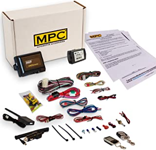MPC Complete 2-Way LCD Remote Start Kit with Keyless Entry for 2003-2007 Honda Accord - Includes Bypass - Firmware Preloaded