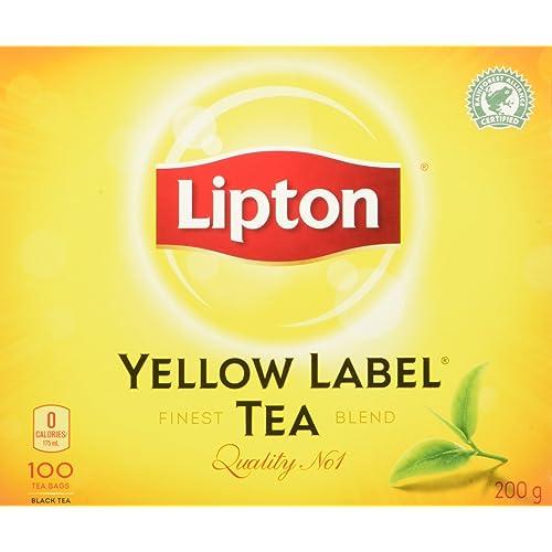 Lipton Yellow Label Tea Bags 100 Count