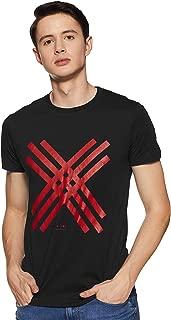 Lee X-Line Men's Solid Slim fit T-Shirt
