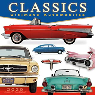 Classics: Ultimate Automobiles 2020 Wall Calendar