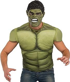 avengers hulk muscles and mask