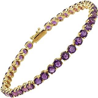 Best 14k gold multi gemstone tennis bracelet Reviews