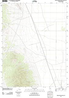 Nevada Maps - 2012 Whistler Mountain, NV USGS Historical Topographic Map - Cartography Wall Art - 44in x 55in