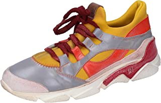 MOMA Trainers Womens Leather Yellow