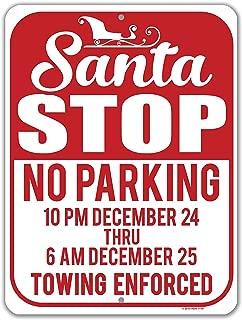 Best no santa sign Reviews