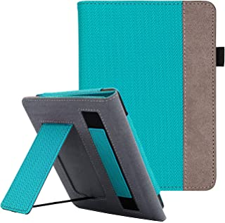 WALNEW Cover Fits Kindle Paperwhite(10th Generation, 2018 Release) - Auto Sleep/Wake Smart Stand Case with Hand Strap for ...