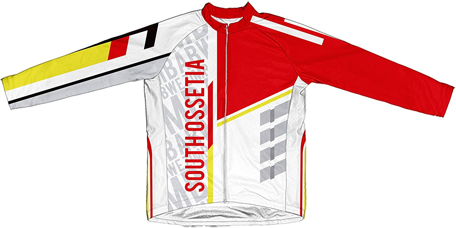 South Ossetia ScudoPro Winter Thermal Cycling Jersey for Women