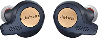 Jabra Elite Active 65t Alexa Enabled True Wireless Sports Headset with Charging Case - Copper Blue