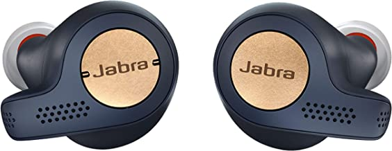 Jabra Elite Active 65t Earbuds – True Wireless Earbuds with Charging Case, Copper Blue – Bluetooth Earbuds with a Secure Fit and Superior Sound, Long Battery Life and More