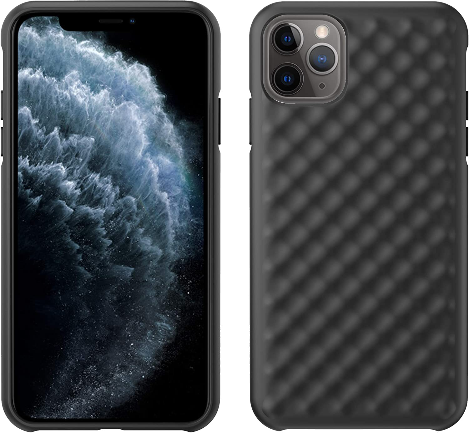 Pelican iPhone 11 Pro Max Case, Rogue Series – Military Grade Drop Tested, TPU Protective Case for Apple iPhone 11 Pro Max (Black)