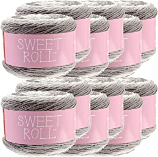Premier Yarns 98367 Sweet Roll Yarn 12/Pk, Silver Swirl Pack