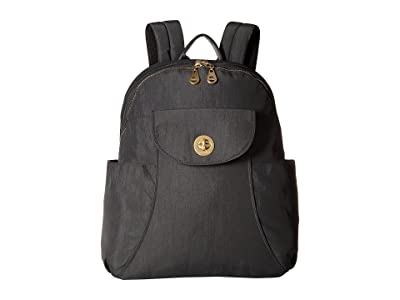 Baggallini Barcelona Laptop Backpack (Charcoal) Backpack Bags