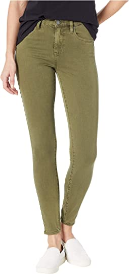 The Great Jones Olive Skinny Utility Pants in Down to Earth
