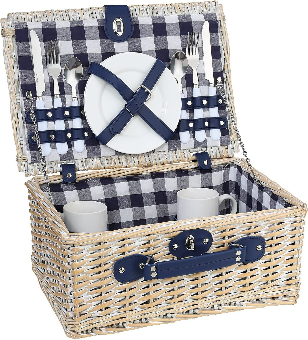 Cilio low-pricing Excellence Arolo Picnic Basket White M 156645