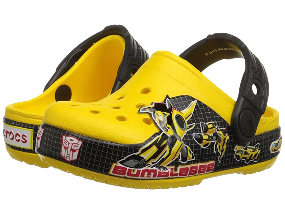 Crocs Kids CB Transformers Bumblebee Clog (Toddler/Little Kid) (Yellow) Kids Shoes