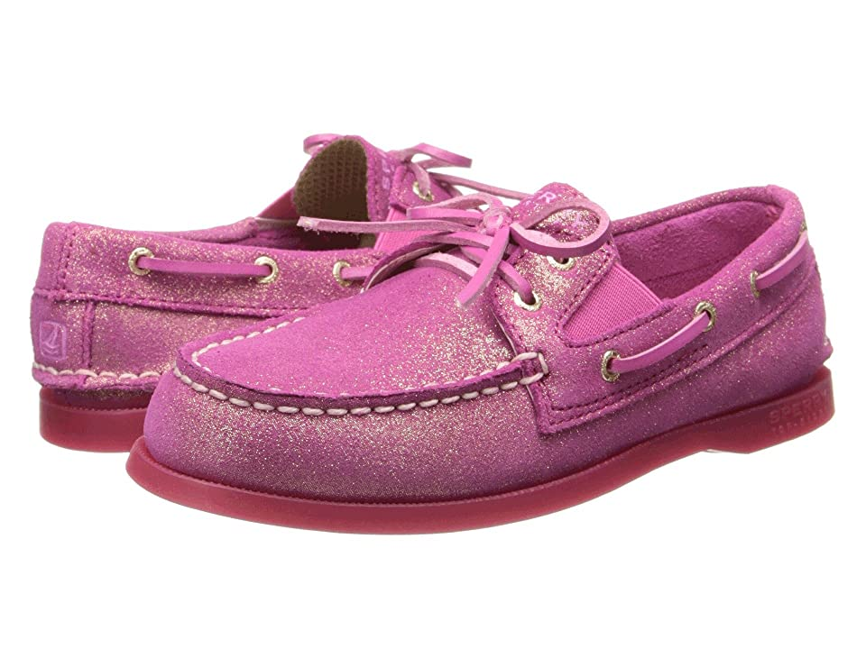 Sperry Kids A/O Slip On (Little Kid/Big Kid) (Magenta Leather) Girl