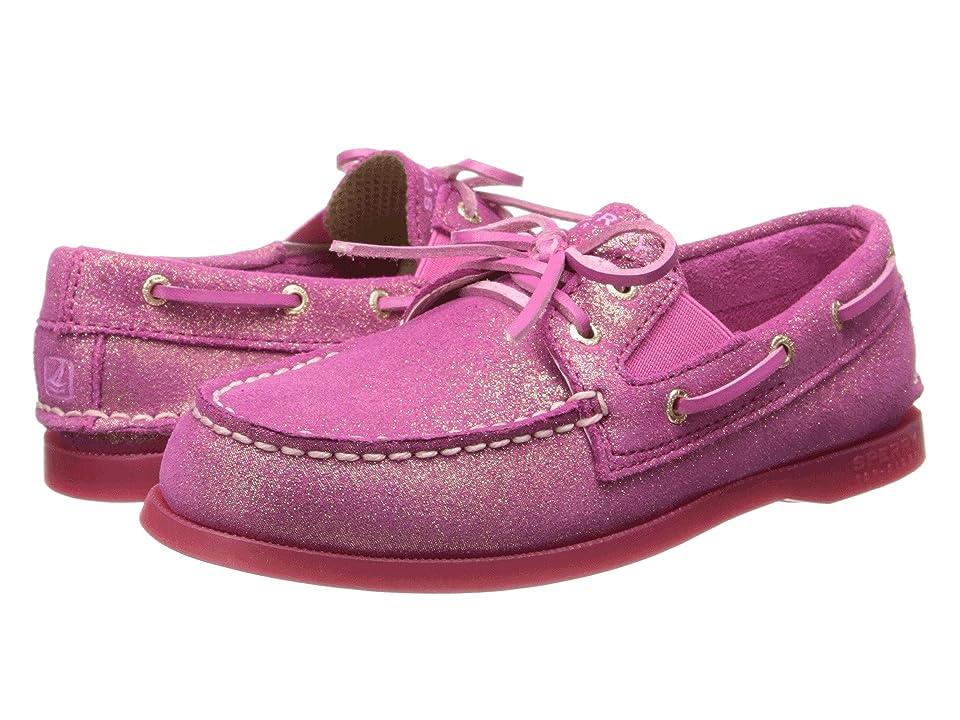 Sperry Kids A/O Slip On (Little Kid/Big Kid) (Magenta Leather) Girl