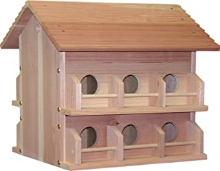 Heath Outdoor Products 297194 M-12Dp Deluxe Wood Martin House
