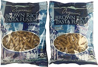 Trader Joe's Organic Brown Rice Pasta Fusilli (Pack of 2) - USDA Organic