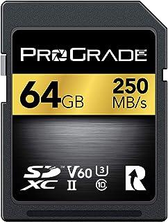 ProGrade Digital SDXC UHS-II V60 250R Memory Card (64GB)
