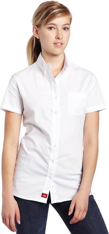 Dickies Juniors' Poplin Short-Sleeve Shirt