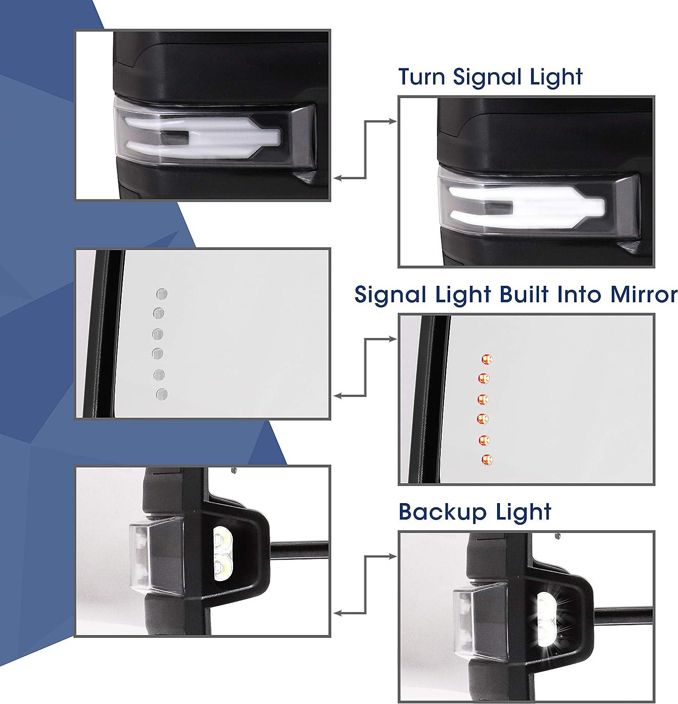 Exterior Accessories Towing Mirrors eledenimport.com HF autoparts ...