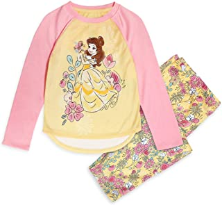 Disney Belle Pajama Set for Girls – Beauty and The Beast
