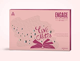 Engage Eau de Parfum Yang, 90ml with Pocketful O'Stories Gift Pack (For Women)